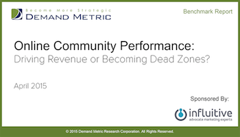 Online Community Performance: Driving Revenue or Becoming Dead Zones?